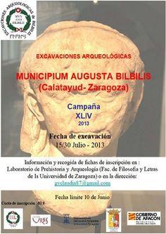 Campaña XLIV de excavaciones arqueológicas en el Municipium Augusta Bilbilis, (Calatayud, Zaragoza), del 15 al 30 de julio de 2013.