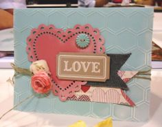 Sweet Valentine Card - More Amore Product Suite by Stampin' Up!