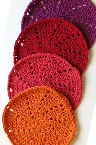 #Crochet Sunrise Washcloth in Kitchen Cotton - free pattern from @Brittany Prater Brand
