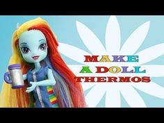 Make a Clay Doll Thermos - EP 745
