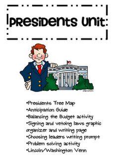 Free Presidents' Day mini unit