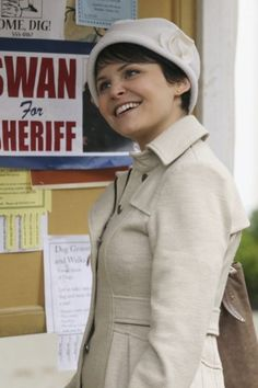Mary Margaret.  LOVE her outfit!! :D :D