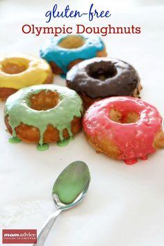 Gluten-Free Olympic Doughnuts via @Amy Lyons Clark (MomAdvice.com)