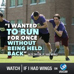 Two boys work together so one can achieve his dream of running for the track team despite being blind, and the other can stay out of jail in If I Had Wings! Premieres 10/19 on UP!