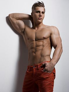Christian Bok © RICK DAY rickday.blogspot.com # pecs six pack abs bare chest hunk hot guy nice arms male body musculoso man shirtless eye candy adonis