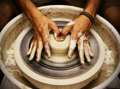 I need to learn how to do this...pottery