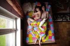 parents, pregnant coupl, jana romanova, pregnancy, art, couple portraits, sleep, friend, photographi