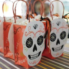 Halloween Party Bags (Set of 8)