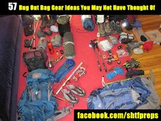 57 Bug Out Bag Gear Ideas You May Not Have Thought Of - SHTF Preparedness  ♣  14.5.1 bug out bag gear, gear idea