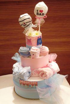 diaper cakes pannolini cakes