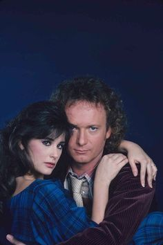 Luke Spencer  and Jackie Templeton (Demi Moore) - general-hospital-80s Photo