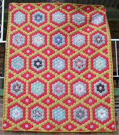 The Great Hexagon Quilt - Along: Speaking of older quilts...