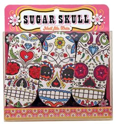 Nail File Sugar Skull Set Of 3 - only $5.50 | Unique Gifts & Home Decor | Karma Kiss