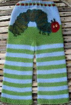(7) PARTY OUTFIT Handmade baby clothing inspired by The Very Hungry Caterpillar. Very cute!  #WorldEricCarle #HungryCaterpillar