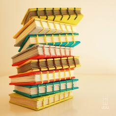dreamery by uituka #bookbinding coptic stitch