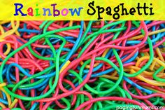 A fun sensory activity that is easy & frugal to make! The kids won't stop playing with this!