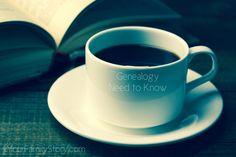 12 #Genealogy Things You Need to Know Today, Thursday, 10 July 2014, via 4YourFamilyStory.com. #needtoknow #familytree
