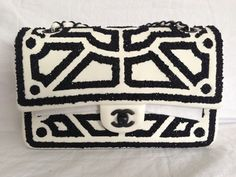 Love this pattern!  Chanel Classic Flap Handbags http://x.vu/chanelbags