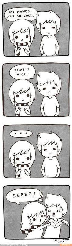 Ha! Me!