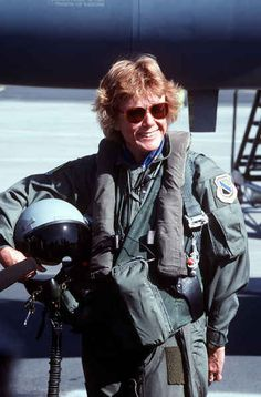 The first female Secretary of the Air Force, Dr. Sheila E. Widnall.