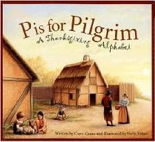 Share with your children the Thanksgiving alphabet