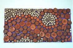 Random Texture Rustic Home Decor Tree Branch by BackYardRusticWood, $395.00