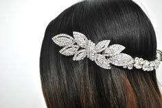 Bridal Head Piece Wedding Crown Hair Accessory by parkstudio