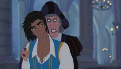 Frollo and Esmeralda genderbend