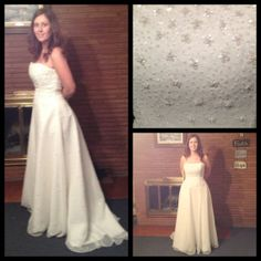 DRESS FOR SALE! - $499  Please share and help me sell this beautiful dress :)  Thanks!