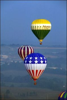 """Harrison Balloon Launch"" - Arkansas Parks and Tourism #AETN #BeMore"
