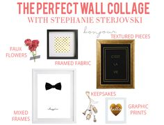 Create the Perfect Wall Collage with Stephanie Sterjovski