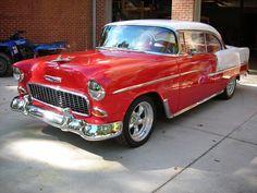 1955 Chevy Bel Air 2 Door Hardtop