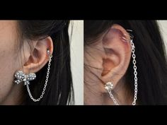 DIY Ear Cuff Chain (Fake a Cartilage)