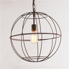 Young House Love Small Wire Globe Lantern - 7 Colors