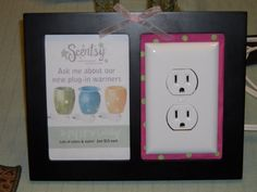 Cute plug in display!