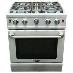 Capital - 30 Inch Capital Precision Range, 4 Open Burners, Manual Clean - LMCR304 - Home Depot Canada