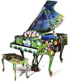 hand paint, paint steinway, painted instrument, steinway piano, beauti, paint piano, painted pianos, music instrument, timothi martin