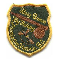 Haig-Brown Fly Fishing Association Patch
