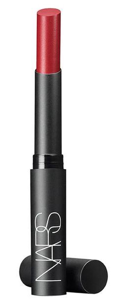 Bright, bold, perfectly matte lipstick.