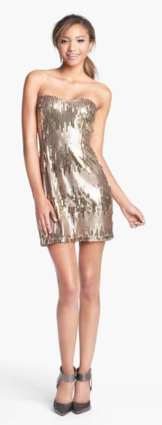 Shiny Party Dress!
