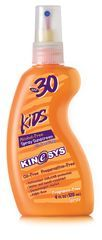 KINeSYS Kids Sunscreen SPF 30 Spray (7.4/10)