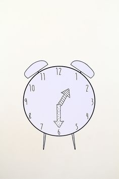 Printable Magnetic Play Clock