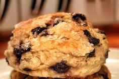 blueberry buttermilk breakfast biscuits