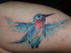 Tattoos by Musa.  LOVE this so much!!!!! Love the style! So painterly!