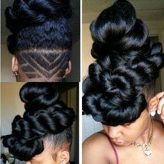 Click the image for Aprecia's natural hair photos and regimen.