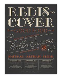 Redis Cover / Alvin Diec #grafica #vintage #poster #lettering #tipografia #alvindiec