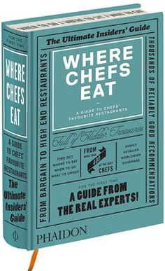 Where Chefs Eat book cover