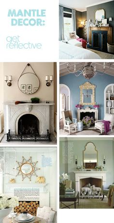 How to decorate a mantel  I have been waiting for this forever!