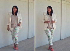 floral Curvy Girl Fashion