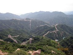 The Great Wall / Beijing, China (One of the eight wonders of the world)